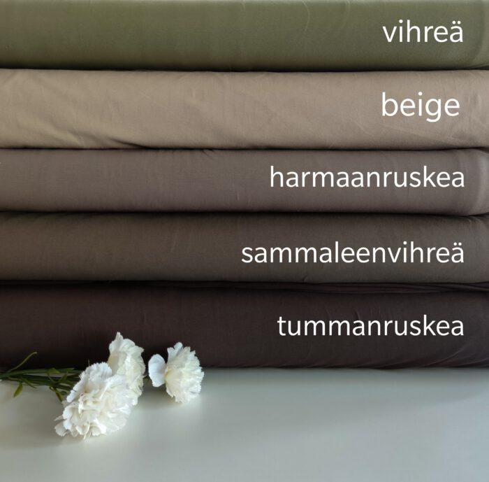 Sammaleenvihreä, trikoo 240g - Hento Style Oy